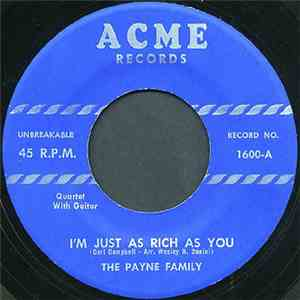 The Payne Family - Highway To Glory Land
